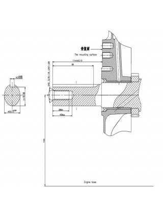 Двигатель Loncin LC2V90FD