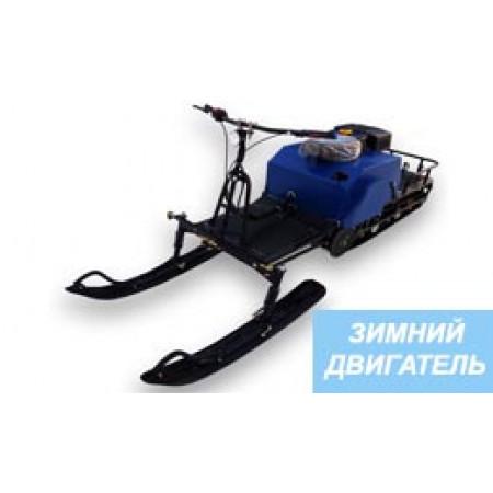 Мотобуксировщик ЛИДЕР-2-2Т-15АП зимний двигатель