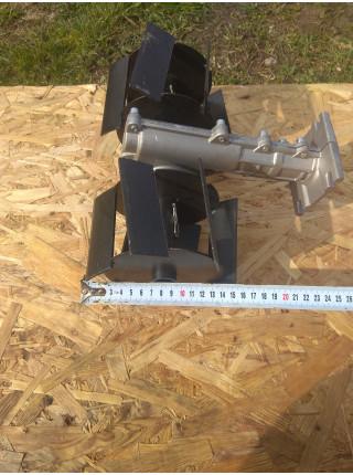 Насадка на бензокосу пропольник-культиватор 150 мм