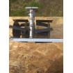 Насадка на бензокосу пропольник-культиватор 190 мм