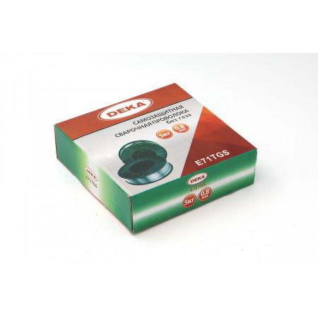 Порошковая сварочная проволока 0,8 мм по 5 кг DEKA