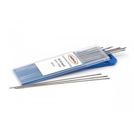 Вольфрамовый электрод DEKA WC-20 серый 1,6 мм