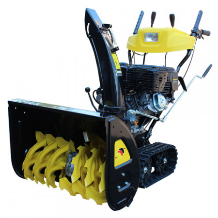 Снегоуборщик бензиновый Huter SGC 8100C на гусеницах