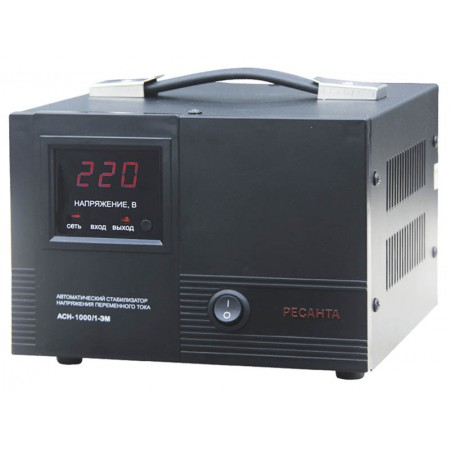Стабилизатор напряжения Ресанта ACH-1000/1-ЭМ однофазный