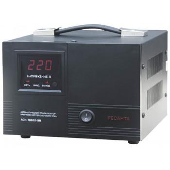 Стабилизатор напряжения Ресанта ACH-1500/1-ЭМ однофазный