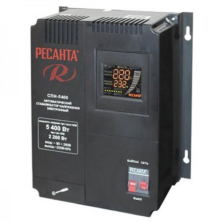 Стабилизатор пониженного напряжения Ресанта СПН-5400