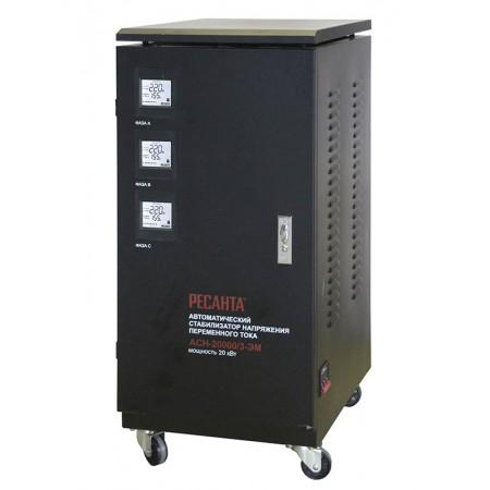 Стабилизатор трехфазный Ресанта ACH-20000/3-ЭМ