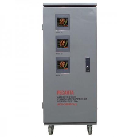 Стабилизатор трехфазный Ресанта ACH-30000/3-Ц