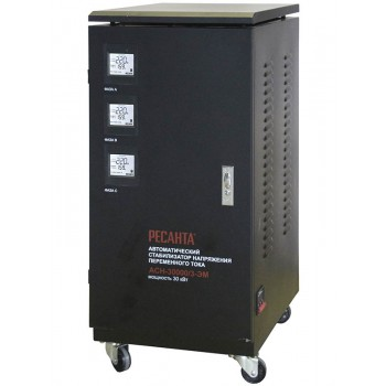 Стабилизатор трехфазный Ресанта ACH-30000/3-ЭМ