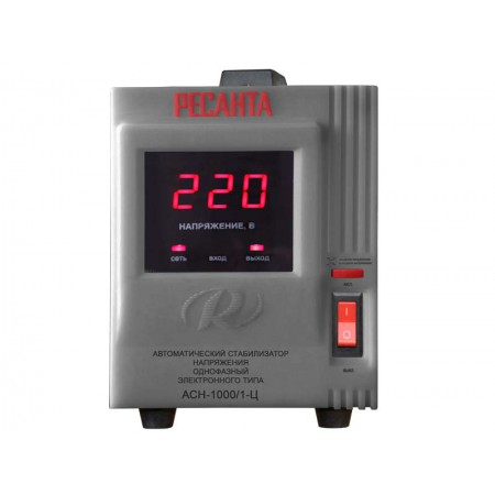 Стабилизатор напряжения Ресанта ACH-1000/1-Ц однофазный
