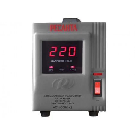 Стабилизатор напряжения Ресанта ACH-500/1-Ц однофазный