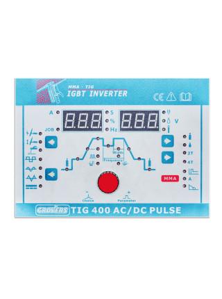 GROVERS TIG 400 AC/DC PULSE