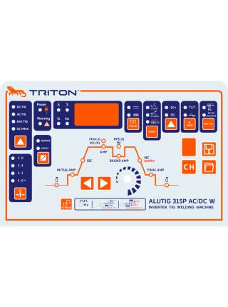 Аппарат аргонодуговой сварки TRITON ALUTIG 315P AC/DC W с пульсом