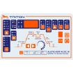 Аппарат аргонодуговой сварки TRITON ALUTIG 400P AC/DC W с пульсом