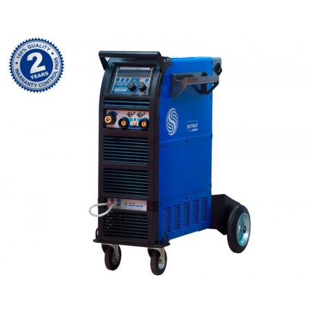 Сварочный полуавтомат для сварки алюминия AuroraPRO SKYWAY 350 DUAL PULSE с водяным охлаждением