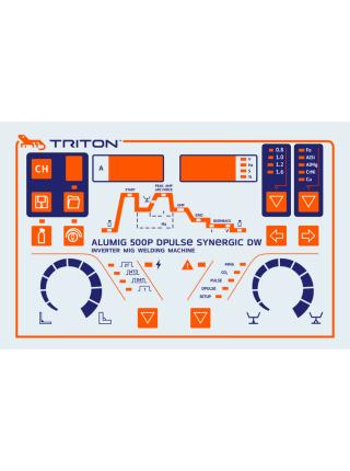 Сварочный полуавтомат TRITON ALUMIG 500P Dpulse Synergic DW
