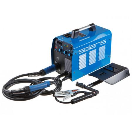 Сварочный полуавтомат Solaris TOPMIG-223 MIG-MAG/FLUX/MMA с горелкой 3м