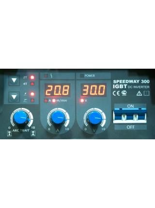 Сварочный полуавтомат AuroraPRO SPEEDWAY 300 (MIG-MAG+MMA)