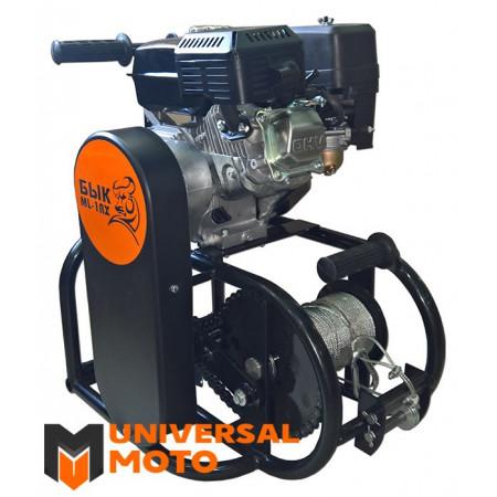 Мотолебедка Бык ML-1RX в комплекте с навеской