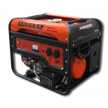 Бензиновый генератор AGE 6500 D Aurora