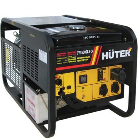 Бензиновый генератор Huter DY15000LX-3 трехфазный