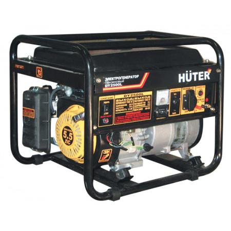 Портативный бензиновый генератор Huter DY2500L