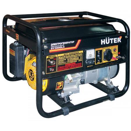 Портативный бензиновый генератор Huter DY3000LX