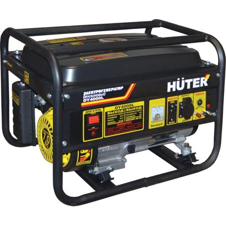 Портативный бензиновый генератор Huter DY4000L