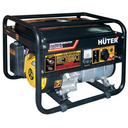 Портативный бензиновый генератор Huter DY4000LX