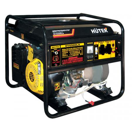 Портативный генератор бензиновый Huter DY6500LX