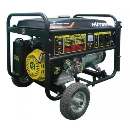 Портативный бензиновый генератор Huter DY8000L