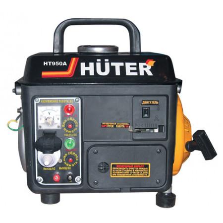 Портативный бензиновый генератор Huter HT950A