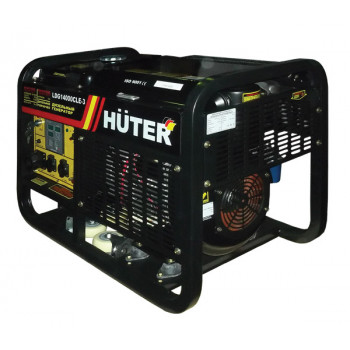 Портативный дизельный генератор Huter LDG14000CLE(3)