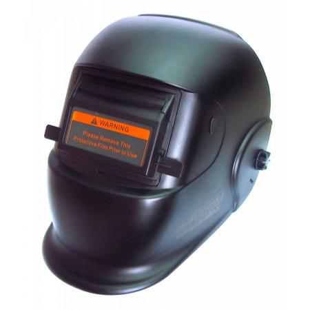 Маска сварщика BLACK GLASS Aurora с поднимающимся светофильтром