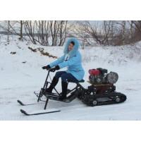 Лыжный модуль к снегоходной приставке САМ