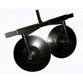 Дисковый окучник для мотоблока ТИП 2 раздвижной